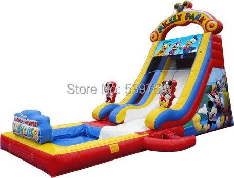 Factory direct inflatable castle slide, inflatable bouncer, inflatable fun city, inflatable slides KY-128