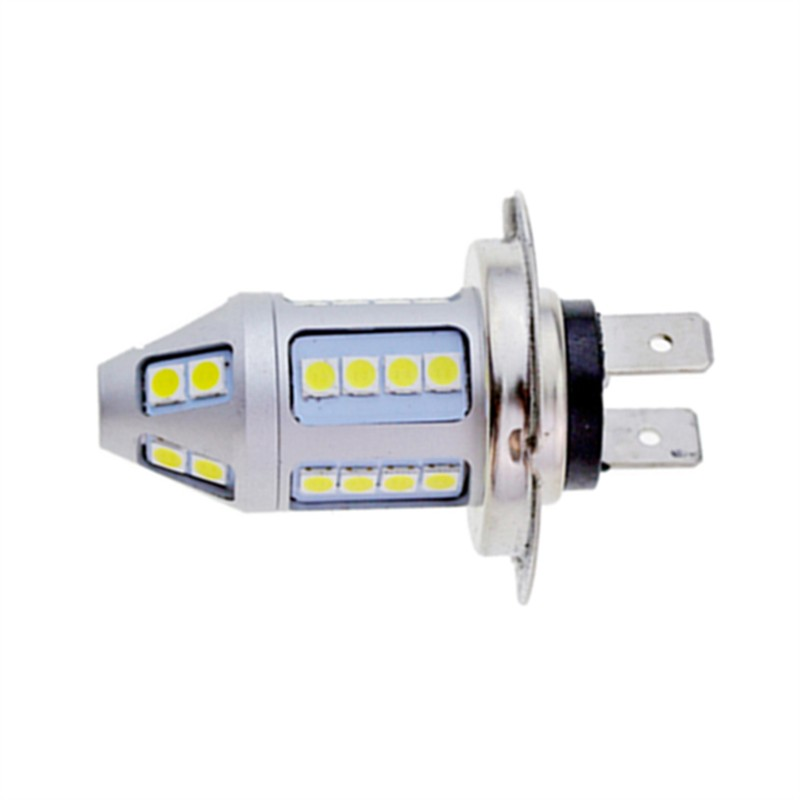 Image 3 - Car Styling!! 2pcs H7 150W Fog Led Light Lamp 12V 30 SMD 3030 Chip White Bulb Car Styling Headlight For Headlamp lights-in Car Headlight Bulbs(LED) from Automobiles & Motorcycles on AliExpress
