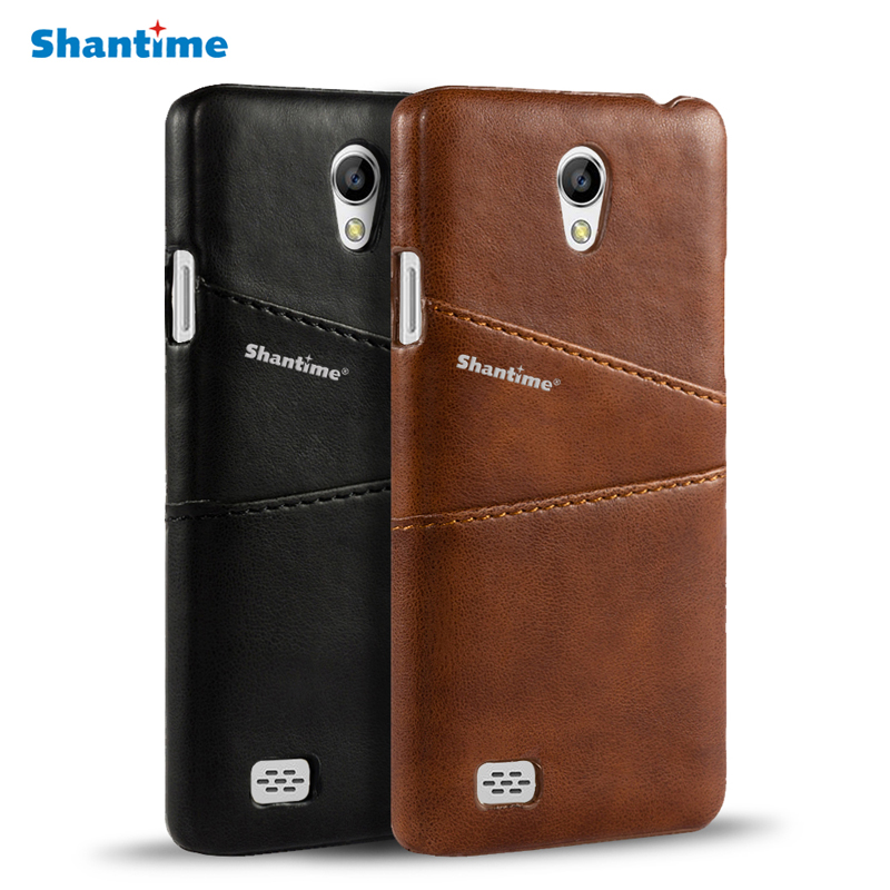 online store 30808 e3db0 US $4.99 |Vintage Pu Leather Back Cover For OPPO Joy 3 Bag Case Cover For  OPPO Joy 3 A11 A11t A11w Business Wallet Card Slots Phone Case-in Wallet ...