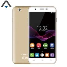 Оригинальный Oukitel U7 макс мобильного телефона 5.5 дюймов 1280×720 IPS MTK6580 Quad Core Android 6.0 1 ГБ Оперативная память 8 ГБ Встроенная память 8.0MP 3 г смартфон