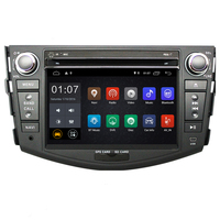 1024*600 2G RAM Android 8.1 Car DVD GPS Navigation For Toyota RAV4 2007 2008 2009 2010 2011 2012 Head Unit Car Stereo radio