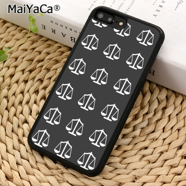 MaiYaCa Scales of Justice Phone Case Cover for iPhone 5 5s