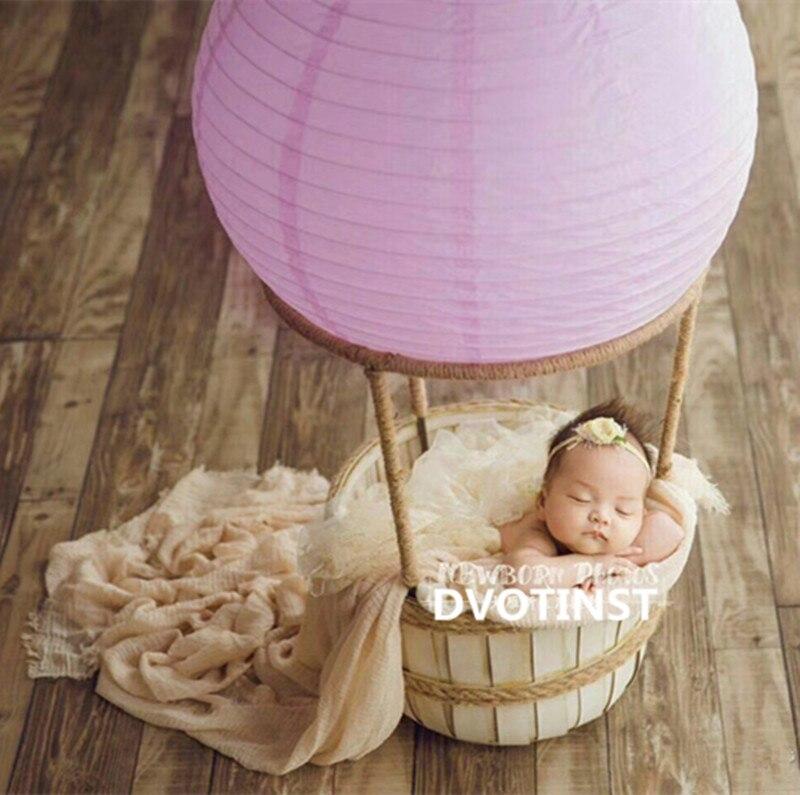 Dvotinst nouveau-né bébé photographie accessoires feu ballon douche cadeau Fotografia accessoires infantile bambin Studio photographie