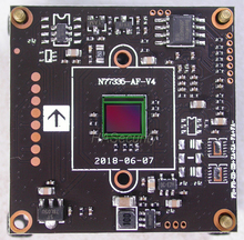 AHD 5MP 4MP 1/2.8 STARVIS IMX335 CMOS sensor de imagen + NVP2477 CCTV Cámara Tarjeta de módulo PCB (piezas opcionales)