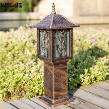 (WECUS) European antique lawn lamp, garden courtyard grass outdoor waterproof(IP55) landscape lamp