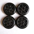 free shipping speed skates wheels high response Matter wheel 110 mm 8 pcs / lot black