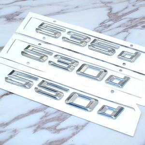 Image 5 - Bmw 5 シリーズ E39 E60 E61 F10 F11 新 520d 525d 528d 530d 535d 550d リアブートトランクリッドトリムカバー手紙バッジエンブレム