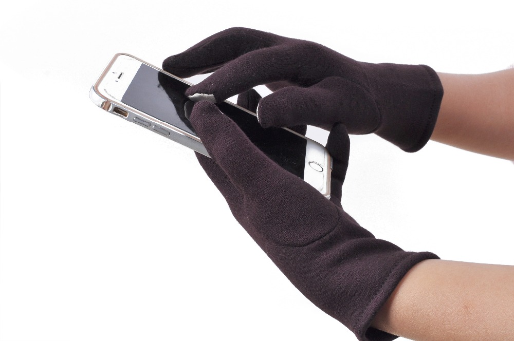 New Design Womens Winter Outdoor Sport Warm Long Gloves Female Full Finger Touch Screen Gloves Winter Themal Mittens