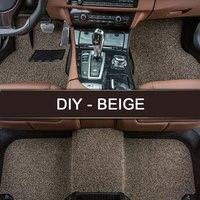 LUNDA DIY Fit Car Floor Mats For Hyundai Ix35 Elantra Santa Fe Sonata Tucson 2016 Solaris