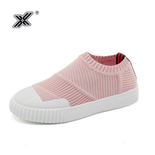 2019 Newest Korea Summer Pink Flat Leather Casual Women Shoes Slip on Breathable Mesh Loafers Sock Shoes for Girls Sneaker mujer