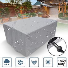 hot deal buy 7size outdoor cover waterproof furniture cover sofa chair table cover garden patio beach protector rain snow dustproof