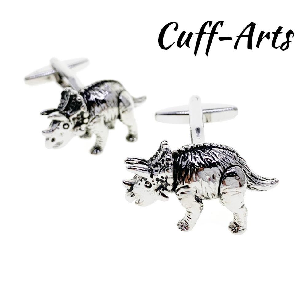 Cufflinks For Men Triceratops Dinosaur Cufflinks Gemelos Gemelli Spinki By Cuffarts C10415