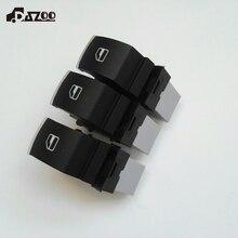 DAZOO 3 PCS Elétrica Único Interruptor De Controle de Janela Para VW Jetta Golf 6 GTI 5 6 Tiguan Touran Caddy Passat CC B6 5ND 959 855