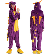 Adults Animal Pajamas Sets Winter Flannel Cartoon Sleepwear Unicorn Kigurumi Unicornio Wholesale 2019New product