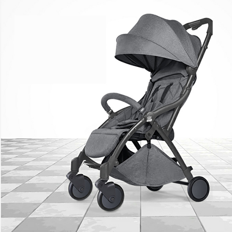 2019 new baby stroller, light cart, automatic fast pull, easy to carry Russian free post