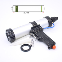 Free Shipping High Quality 310ml Pneumatic Caulking Gun Glass Glue Gun Air Rubber Gun Tool