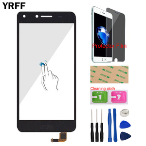 Image 1 - 5 Touch Screen For Huawei Y5 II 2 Y5II CUN L01 LYO L21 Touch Screen Glass Digitizer Panel Sensor Protector Film