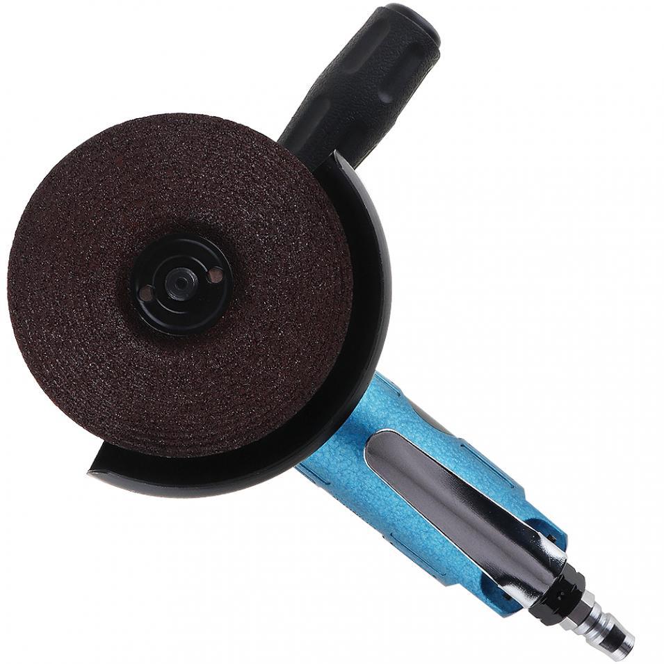 TORO Мини Высокоскоростной 4 дюймов Мощный синий пневматический полировщик пневматическая шлифовальная машина для машины полированная шлиф...
