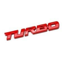3D Metal Turbo Sticker Emblem