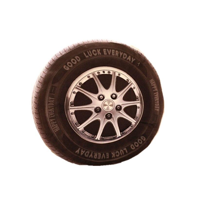 Car Wheel Automobile Tire 3D Toy Memory Foam Pillow Chair Seat Home Sofa Cushion