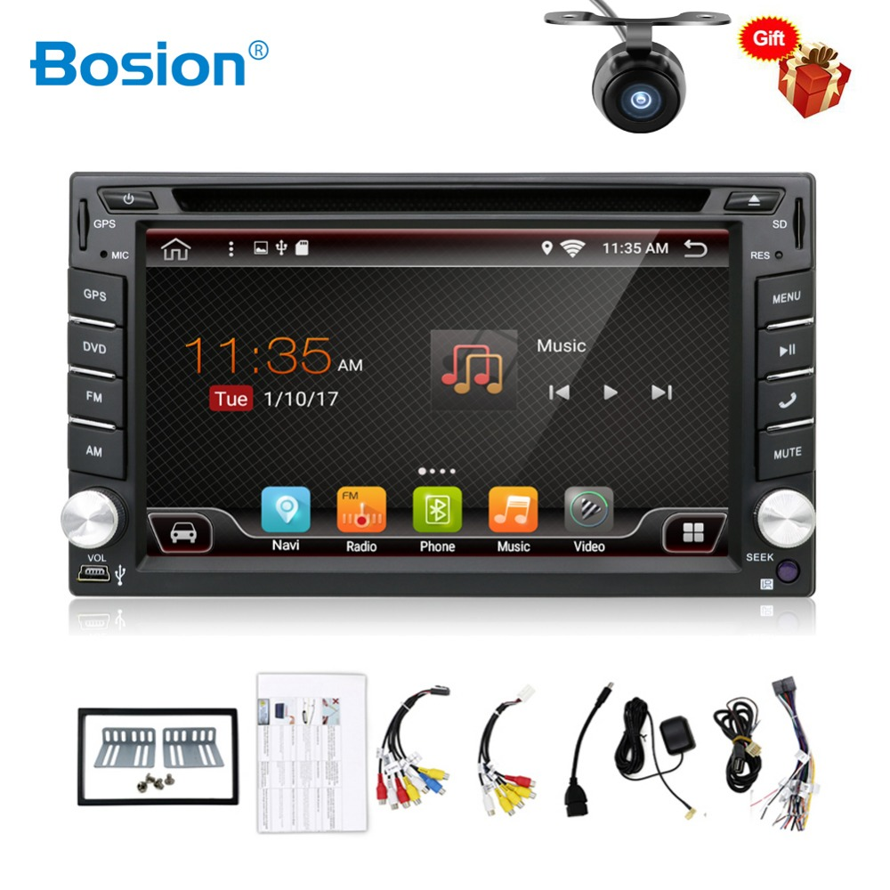 2 Din Android Car Radio Tape Recorder Audio Stereo For