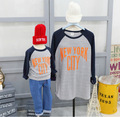 New style fashion letters Print Mother Son Outfits Family Look Mother daughter Baby Matching Family Clothes T shirts