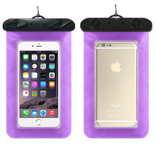 Swimming diving bath phone bag For iPhone7 any phone Swim bag 2017 new summer fruit phone waterproof bag Protective cover