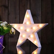 Nordic 3D LED Star/Moon/Christmas Tree /Cloud Nightlight for Kids Room Decoration Photo props Children Light Christmas Gift