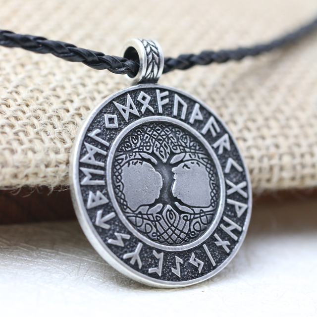 NORDIC VIKING RUNE AMULET NECKLACE