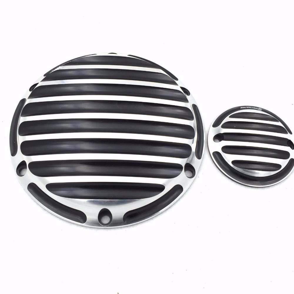 Motorcycle Engine Derby Timer Cover For H D Sportster 883 Iron XL883N 2010-2015 Low XL883L 2005-2006 Standard XL883 2006-2009 mtsooning timing cover and 1 derby cover for harley davidson xlh 883 sportster 1986 2004 xl 883 sportster custom 1998 2008 883l