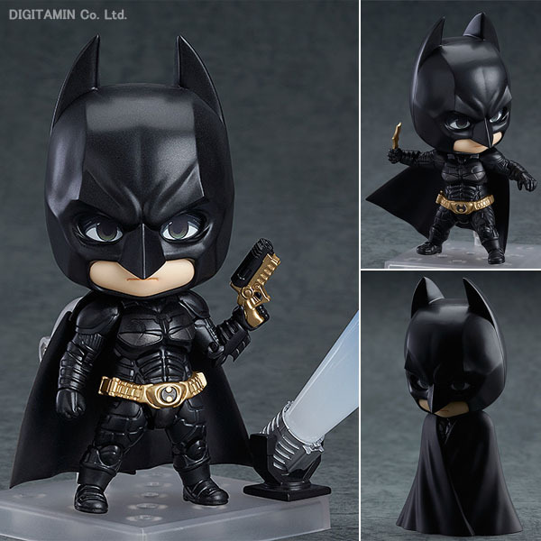 Anime Figure Nendoroid Hero's Edition Batman #469 Figurine Brinquedos PVC Action Figure Collectible Model Kids Toys 4 10cm nendoroid cynthia and garchomp action figures toys anime collectible model 507