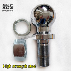 LoveYoung Trailer Parts Chrome Plated Trailer Hitch Towing Ball 2