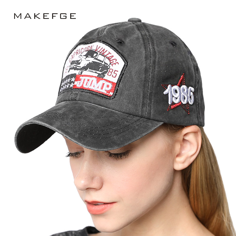 NEW JUMP Skateboard caps Black capricorn vintage 1985 baseball cap women cap men Snapback Hip Hop Bone Outdoor Cotton Casquette 2016 feammal new rose floral embroidered casquette polos baseball caps cotton strapback black pink rose for women sport cap