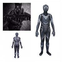 2018 Avengers: Infinity Superhero War Black Panther Cosplay costumes 3D print zental Bodysuit halloween fancy ball Jumpsuits