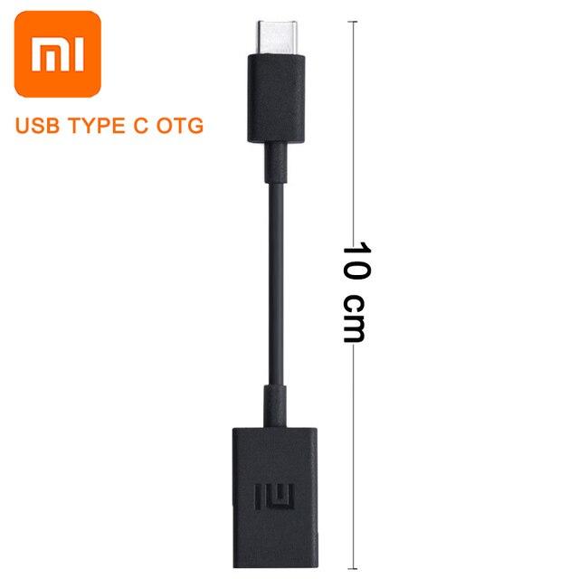 Original XIAOMI USB Typ C OTG Datenkabel Unterstützung Maus Tastatur U Disk Für Mi9 F1 A1 A2 8 SE 6 6X5 MAX 2 3 MIX 2 2 S HINWEIS 2 3 5