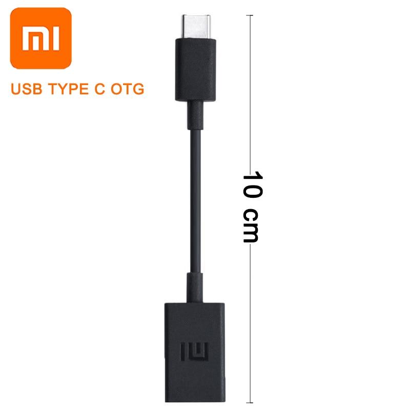 Eficiente Original Xiaomi Usb Tipo C Cable De Datos Otg Ratón Teclado U Disco Para Mi9 F1 A1 A2 8 Se 6x5 Max 2 3 Mezclar 2 2 S Nota 2 3 5