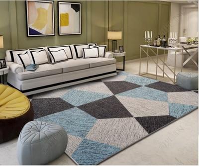 200*300 cm nordique minimaliste abstrait tapis pour salon tapis moderne européen table basse tapis/tapis chambre chevet modèle roo