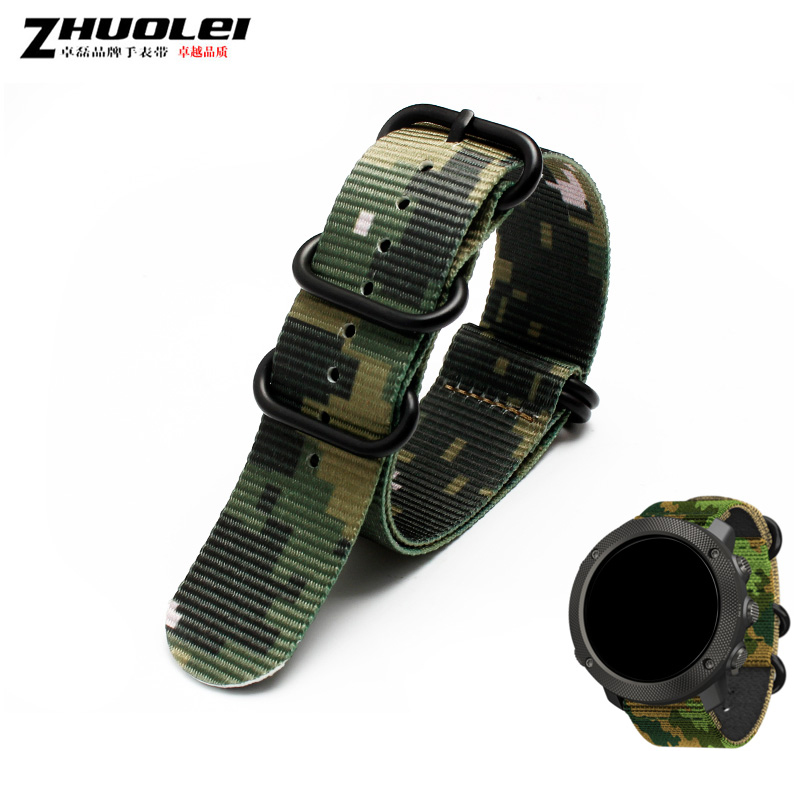18mm 20mm 22mm 24mm nato long camouflage Nylon Waterproof strap nylon canvas military with PVD steel rings bracelet watchband ботинки bata bata ba060awxaa47