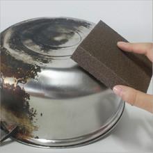 1 sztuk gąbka magiczna gumka do usuwania rdzy czyszczenie bawełniany gadżety kuchenne akcesoria do usuwania kamienia kotłowego czyścik Pot narzędzia kuchenne tanie tanio OLOEY Kuchnia