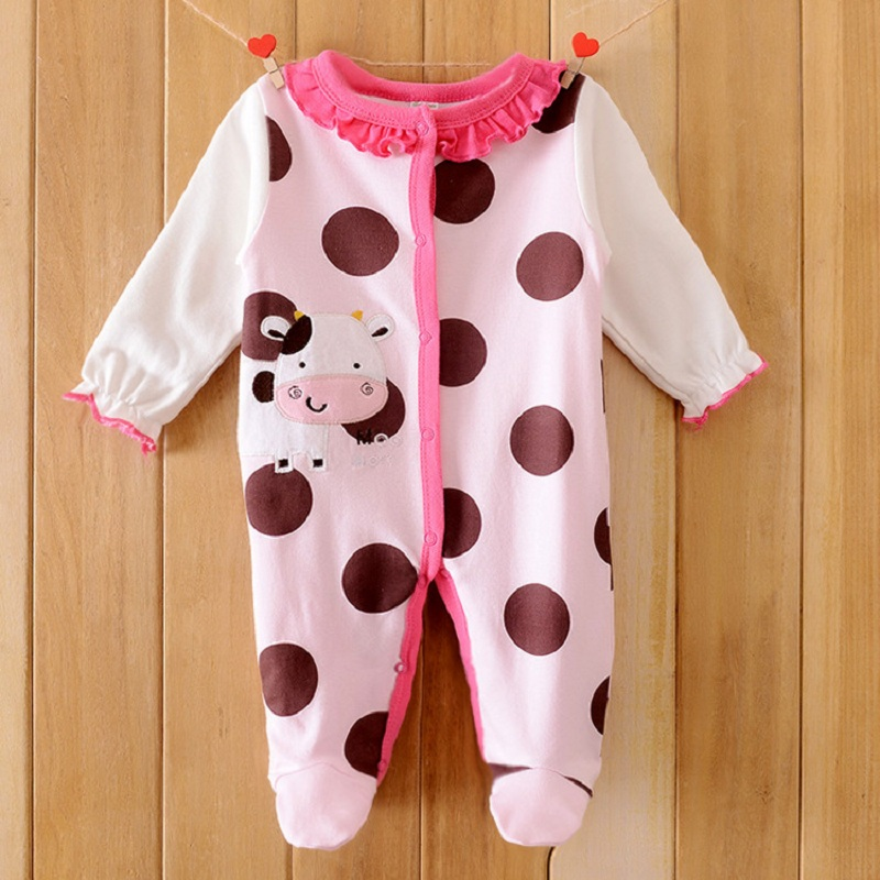 One Piece Baby Girl Rompers