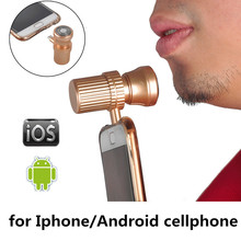 high quality Mini Cellphone Men Electric Shaver Shaving Razor 8 Pin micro USB Charging For iPhone 5s 6 6s plus IOS for Android