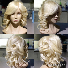 100% Human Hair Mannequin Head Professional Training for Salon 35cm With Real Shoulder
