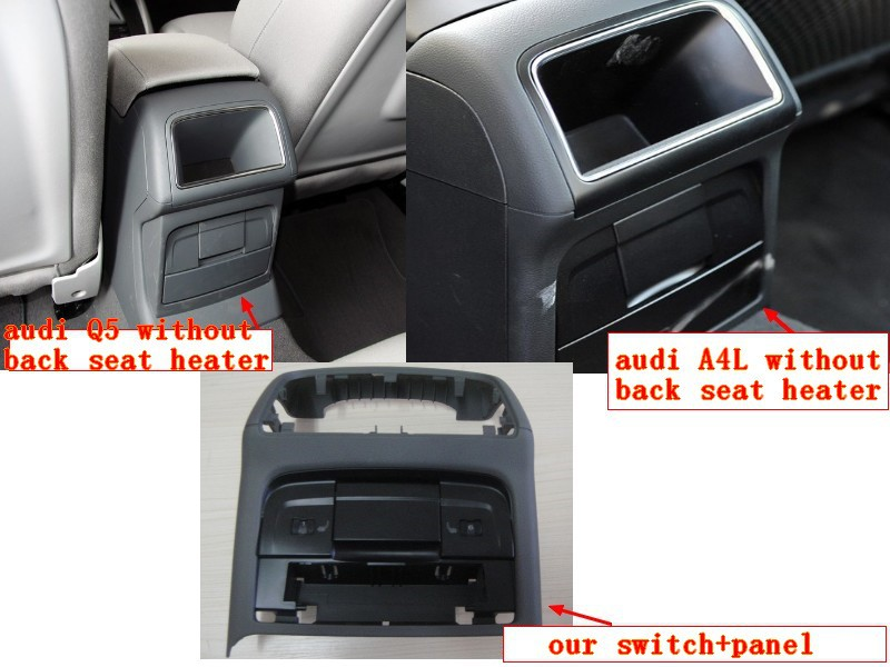 seat heater kits can be suitable for audi A4,A6,Q5 car heater-in ...