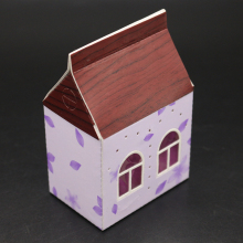 ZhuoAng Warm little house Metal Cutting Mold DIY Scrapbook Album Decoration Supplies Clear Stamp Paper Card