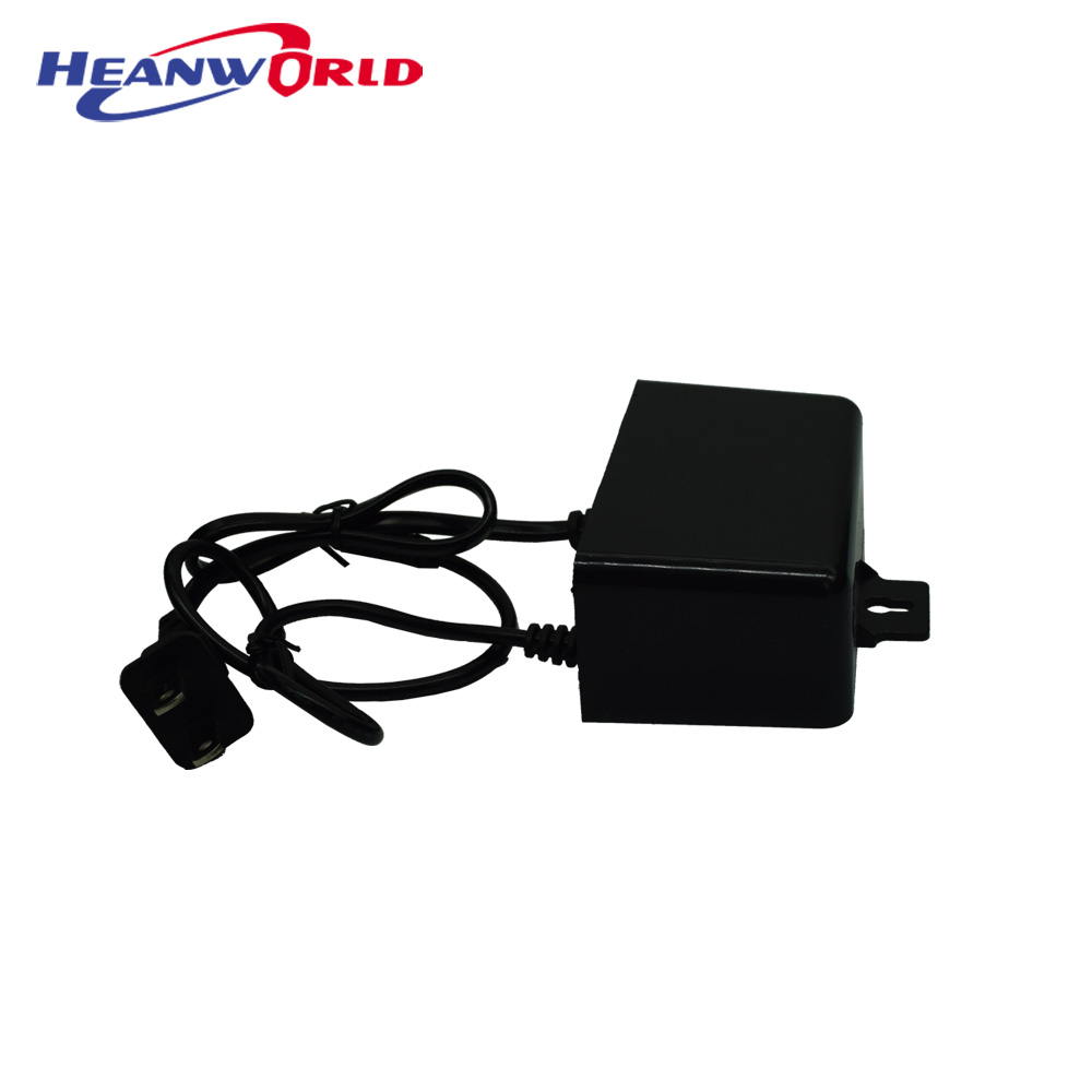 Heanworld DC 12V 2A adapter waterproof US plug AC 100-240V to DC 12V 2A 2000mA professional cctv camera power supply outdoor eu us 12v 2a power supply ac 100 240v to dc adapter plug waerproof for cctv camera ip camera surveillance accessories