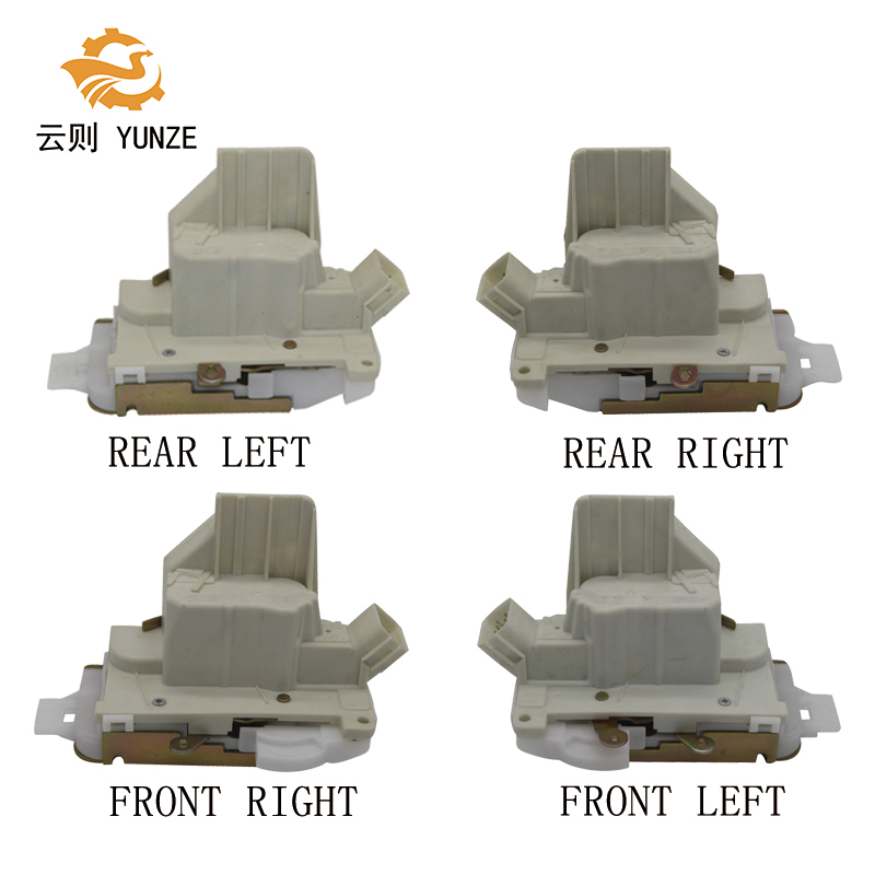 цена на 4PCS FRONT REAR LEFT RIGHT SIDE DOOR LOCK ACTUATOR FOR FORD MONDEO 2004-2007 8 PINS