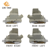 4PCS FRONT REAR LEFT RIGHT SIDE DOOR LOCK ACTUATOR FOR FORD MONDEO 2004 2007 8 PINS