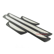 купить For FORD FOCUS MK3 Door Sill Scuff Plate Stainless Steel Welcome Pedal 2012-2016 focus Car Styling Accessories в интернет-магазине