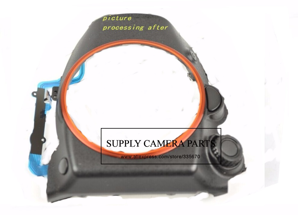 Free shipping! 95%NEW for Sony Alpha a99 a99v Front Cover With Dial Replacement Repair Part free shipping 95%new camera back cover for sony nex 5r nex5r rear cover with door replacement repair part black