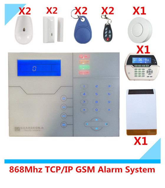 Cheap 2018 Most Advanced ST-VGT TCP/IP GPRS Wireless GSM Alarm System Home burglar Security Alarm System With App control